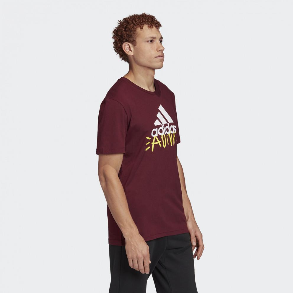 adidas Performance Doodle Basic Badge Of Sports Men's T-Shirt