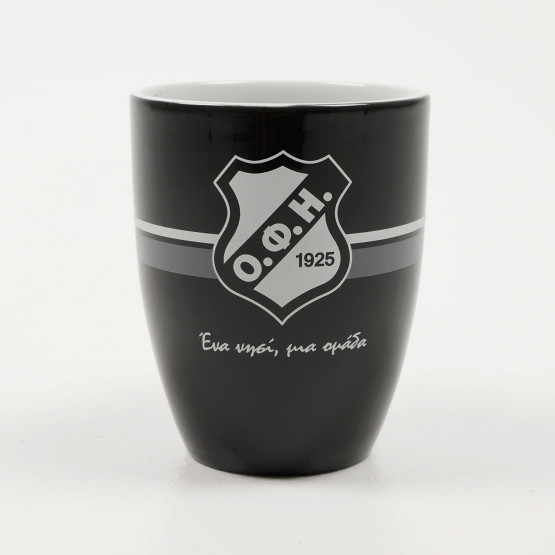 OFI F.C. Black Mug, 375ml