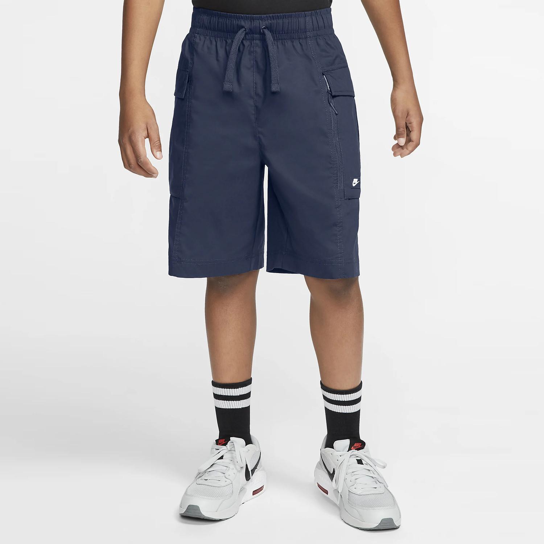 Sabio metodología empujoncito  Nike B Nsw Woven Cargo Short MIDNIGHT NAVY CW1017-410