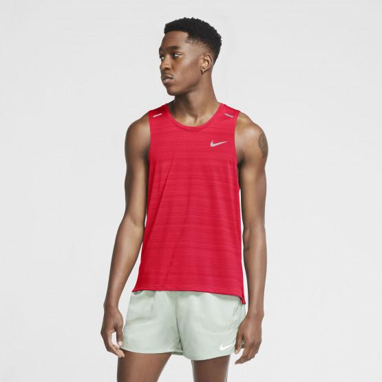 Nike Men's Running Tank Dri-Fit Miler - Ανδρικό Μπλουζάκι