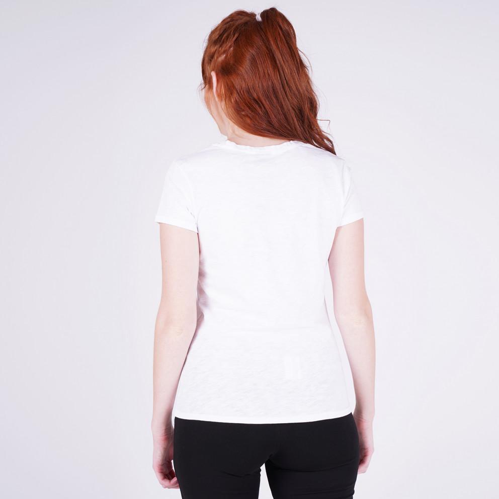 "Target T Shirt K/M Καλτσα Φλαμα  ""Work Harder"""