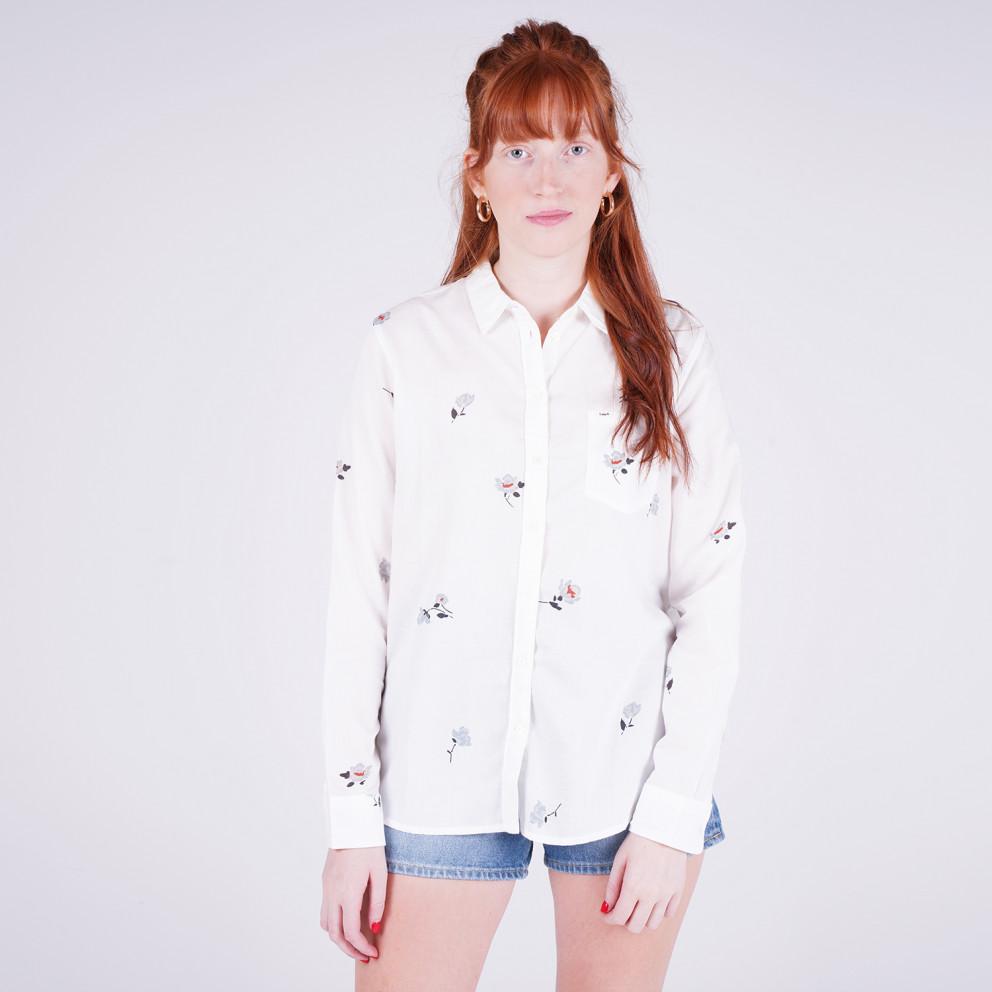 Lee One Pocket Shirt White Canvas