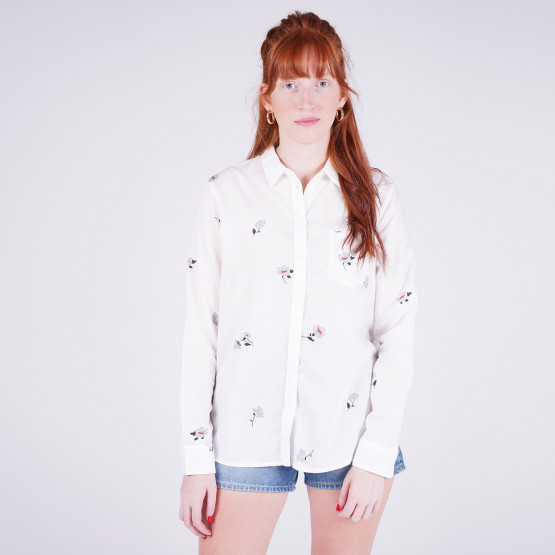 Lee One Pocket Shirt White Canvas
