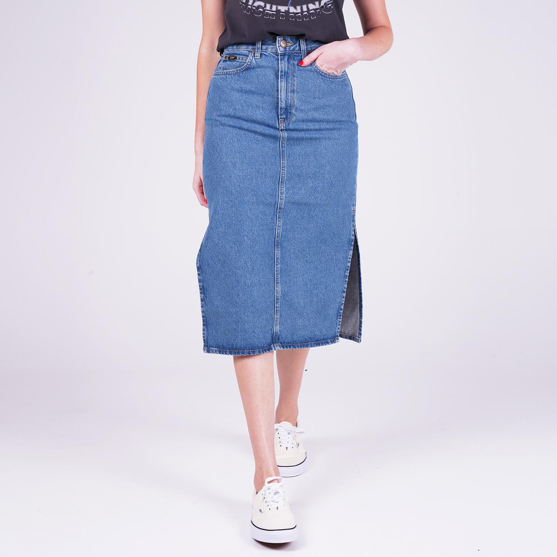 Lee Thelma Skirt Clean Callie (9000059455_47889)
