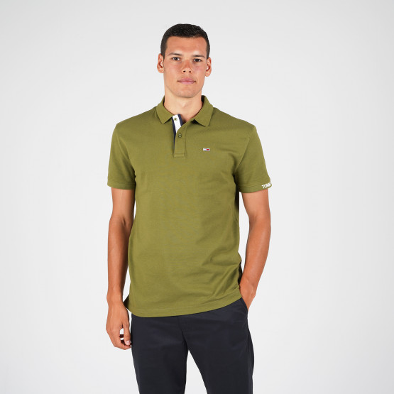 Tommy Jeans Branded Rib Men's Polo