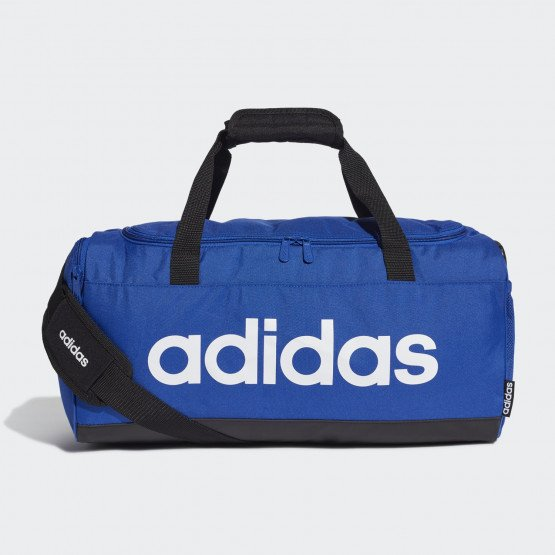 adidas Core Linear Logo Duffel Bag S