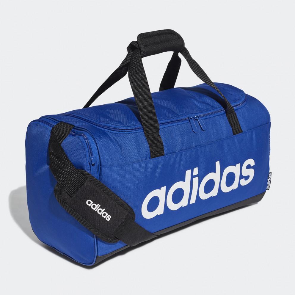 adidas Core Linear Logo Duffel Bag S