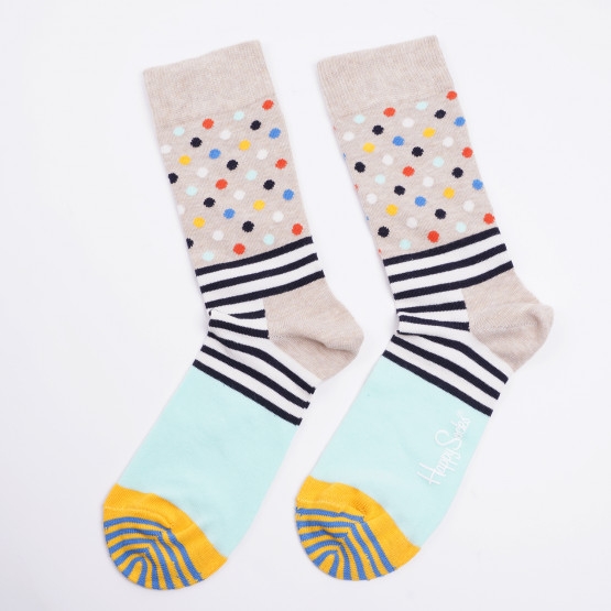 Happy Socks Stripes & Dots Unisex Socks Unisex Κάλτσες