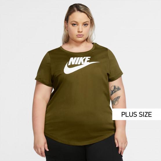 Nike Sportswear Essential Plus Size Γυναικεία Μπλούζα