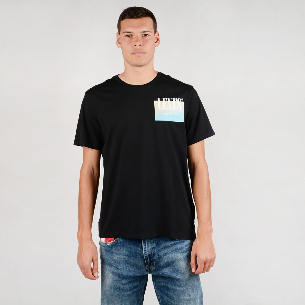 Levis Graphic Setin Neck 2 SΑνδρική Κοντομάνικη Μπλούζα