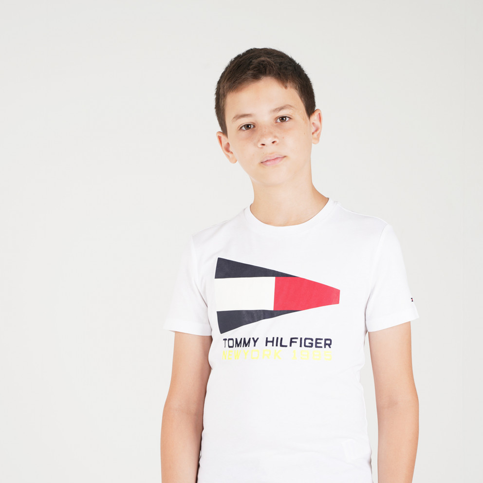 Tommy Jeans Sailing Logo Kid's Tee