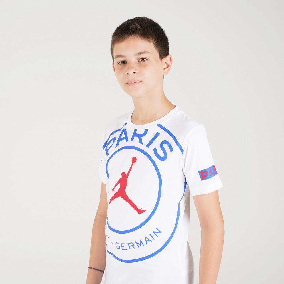 Jordan Bcfc Ss Logo Kids' Tee