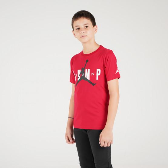 Jordan Jdb Mj Ss Crew 2 Tee Παιδική Μπλούζα