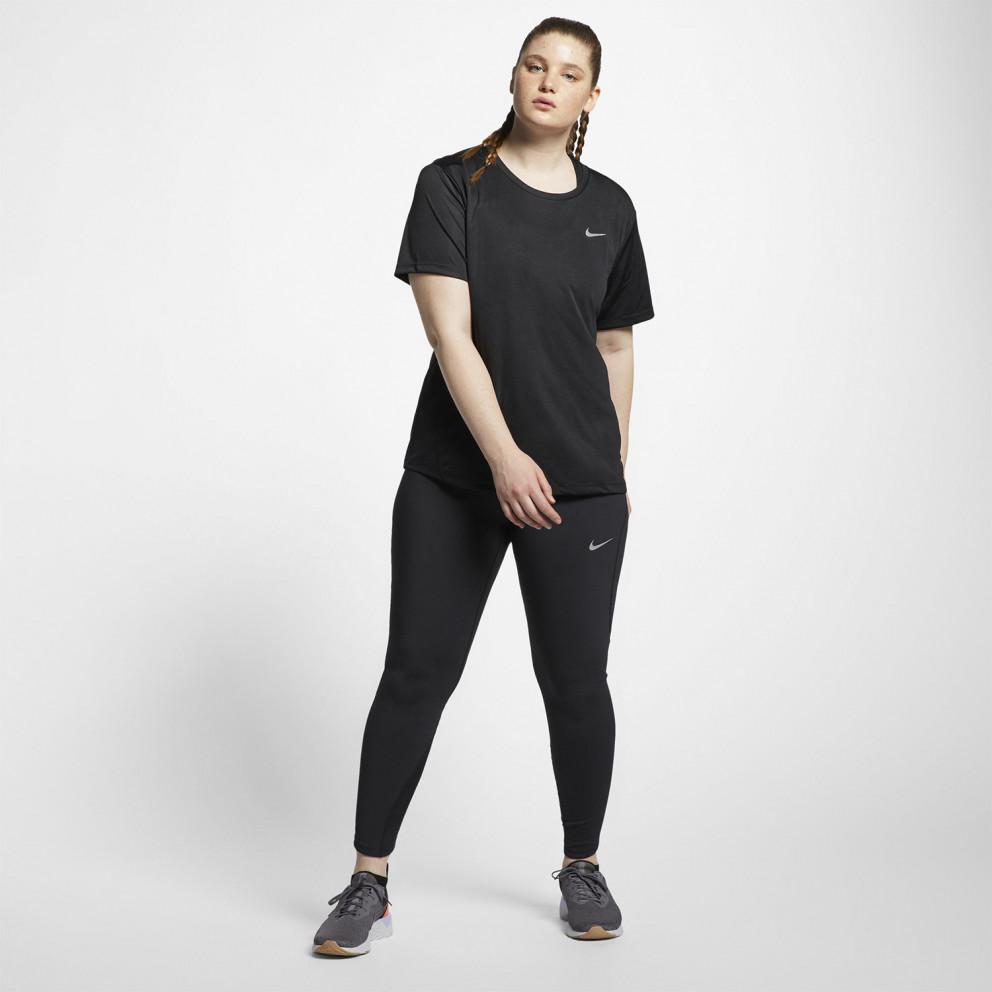 Nike Miler Women's Short-Sleeve Running Top (Plus size)