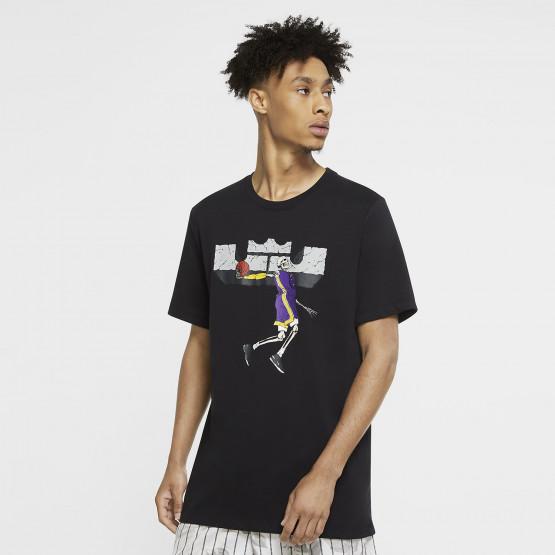 Nike Dri-FIT LeBron Logo Ανδρικό Basketball Μπλουζάκι