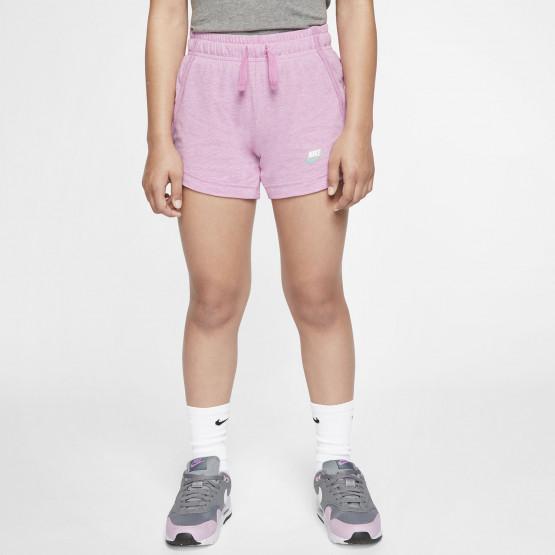 Nike Sportswear Jersey Σορτς για Κορίτσια