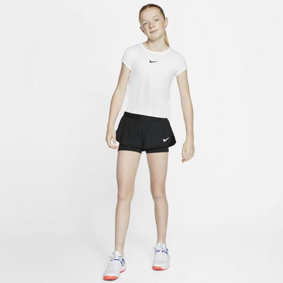 Nike Court Flex Παιδικό Σορτς για Tennis