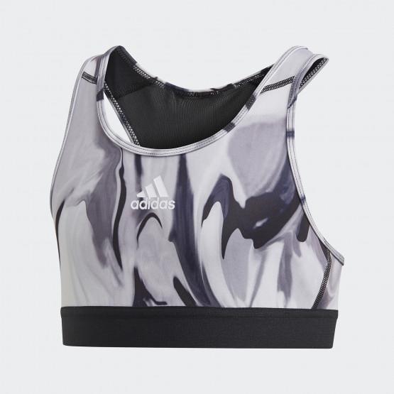 adidas Performance Alphaskin Graphic Aeroready Παιδικό Μπουστάκι