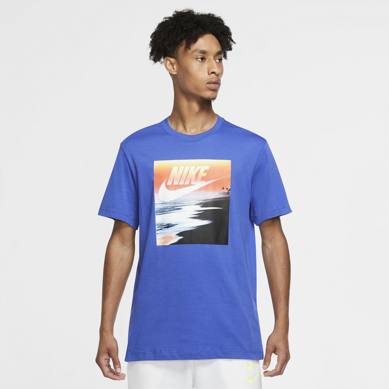 Nike Summer Photo Ανδρική Μπλούζα (9000055373_46440)