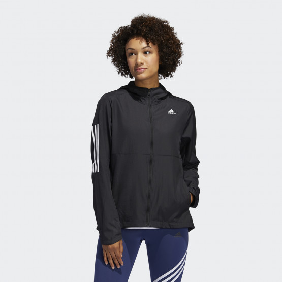 adidas Performance Own The Run Hooded Wind Γυναικεία Ζακέτα