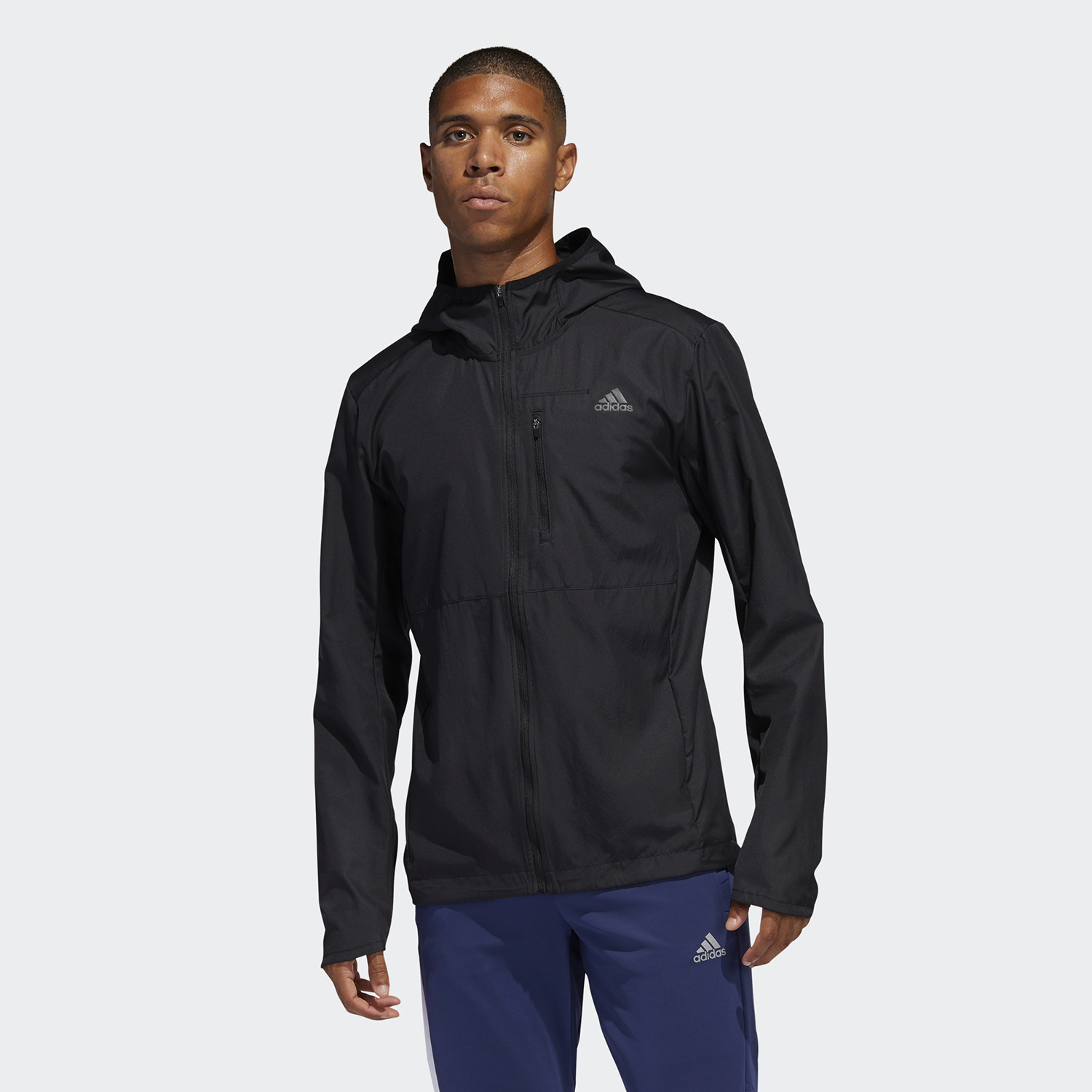 adidas Performance Own The Run Hooded Wind Ανδρικό Μπουφάν (9000058798_1469)