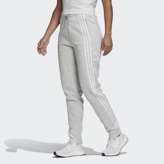 adidas Performance 3-Stripes Doubleknit Zipper Γυναικείο Παντελόνι
