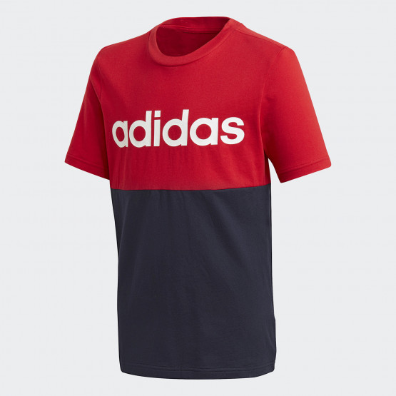 adidas Performance Linear Colorblock Kids Tee