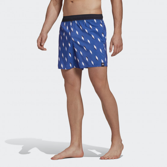 adidas Performance Short Length Graphic Swim Ανδρικό Σορτς Μαγιό