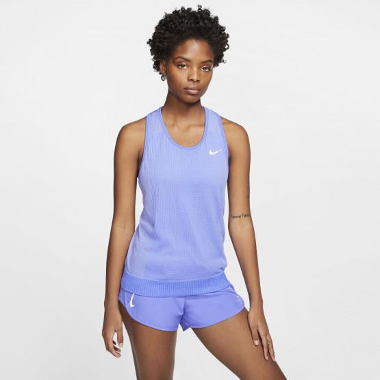 Nike Infinite Γυναικείο Running Αμάνικο Μπλουζάκι