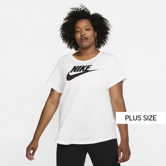 Nike Sportswear Essential Futura Plus Size Γυναικεία Μπλούζα