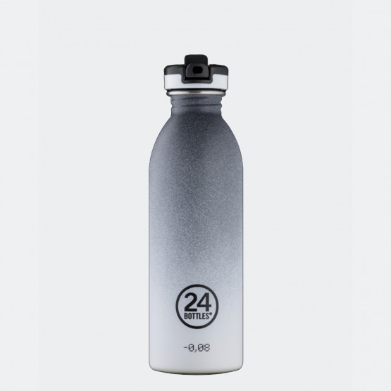 24Bottles Urban Tempo Grey Steel Bottle 500 ml