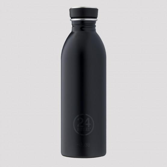 24Bottles Urban Steel Bottle Black 500ml