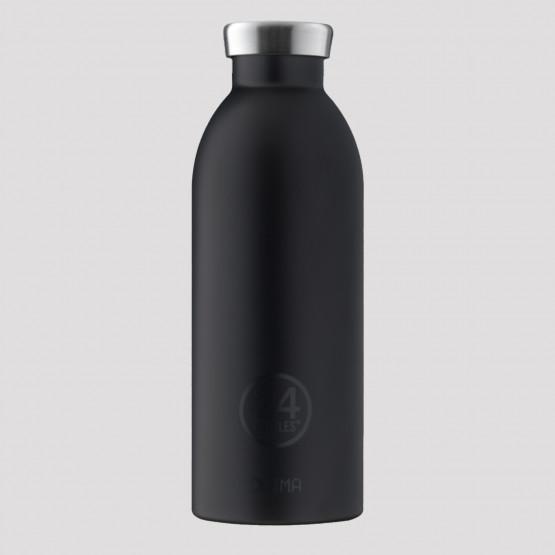 24Bottles Clima Tuxedo Black Steel Bottle 500 ml