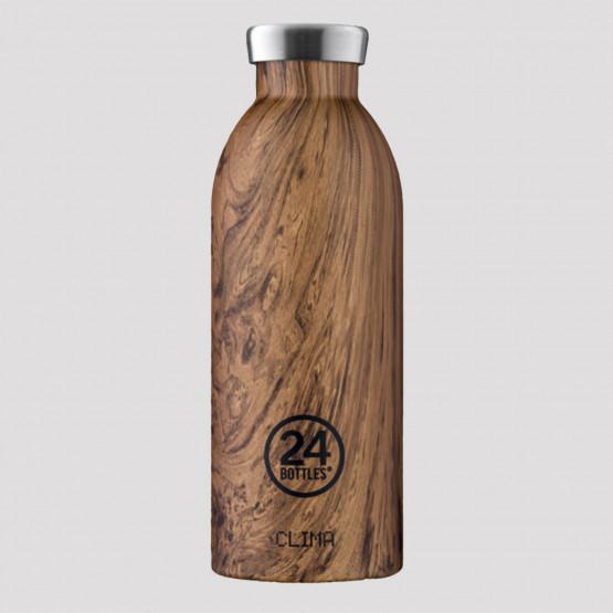 24Bottles Clima Wood Sequoia Steel Bottle 500 ml