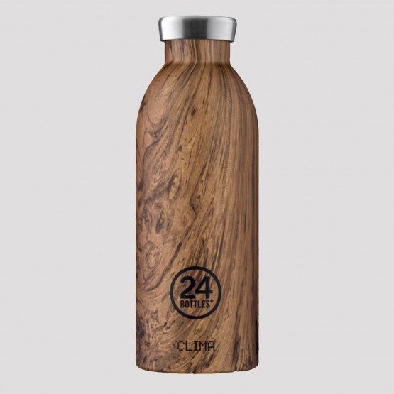 24Bottles Clima Sequoia Wood Steel Bottle 850 ml