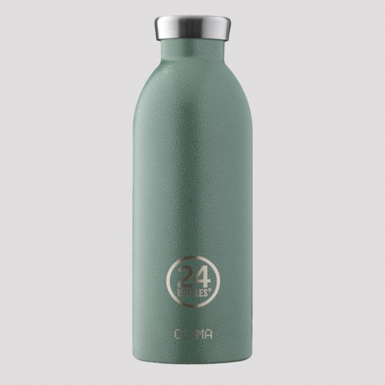 24Bottles Clima Rustic Moss Green Steel Bottle 500 ml