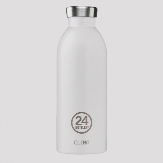 24Bottles Clima Arctic White Steel Bottle 500 ml