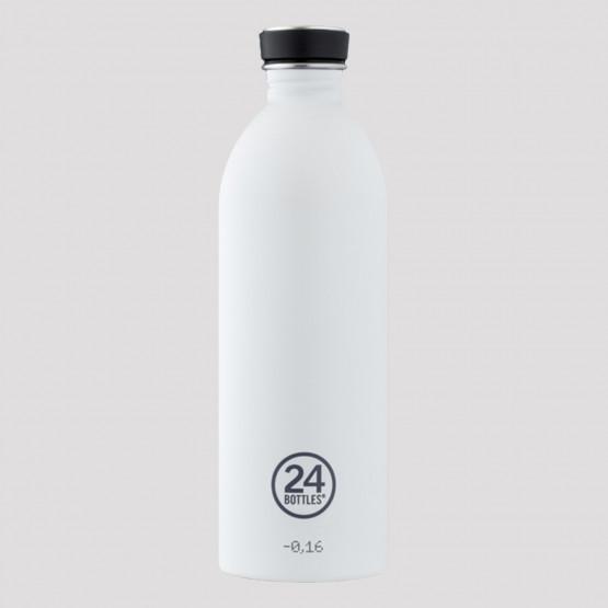 24Bottles Urban Ice White Steel Bottle 1L
