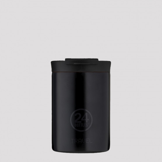 24Bottles Travel Tumbler 350 Tuxedo Black