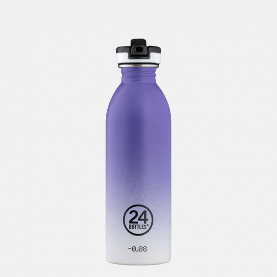 24Bottles Urban Purple Rhythm Steel Bottle 500 ml