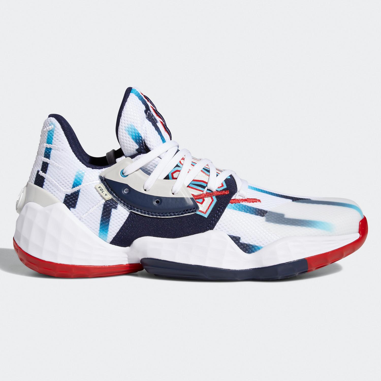 adidas Harden Vol. 4 Aνδρικά Παπούτσια για Μπάσκετ (9000059225_47686)