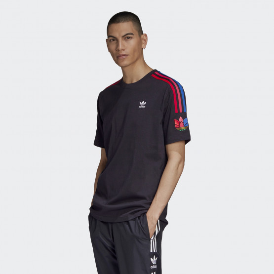 adidas Originals Adicolor 3d Trefoil Ανδρική Μπλούζα