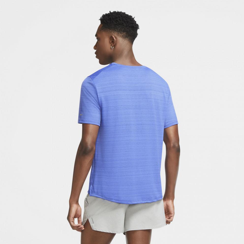 Nike Dri-Fit Miler Ανδρικό Running T-shirt