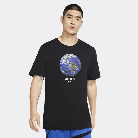 Nike Dri-FIT 'World Ball' Basketball Ανδρικό Μπλουζάκι