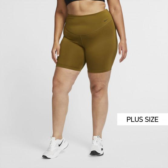 Nike One 7/8 Plus Size Women's Biker Shorts
