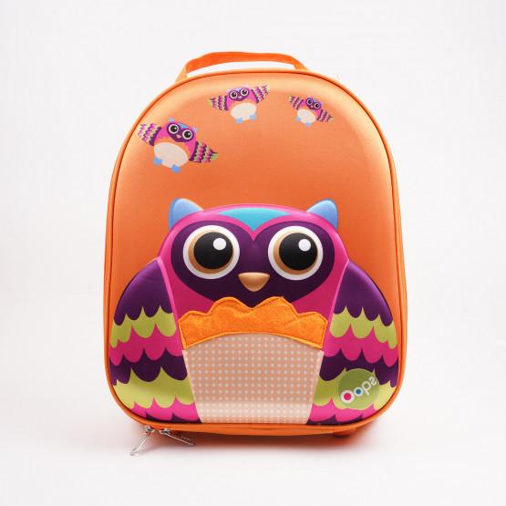 Oops Παιδική Τσάντα Easy Trolley 35cm Owl