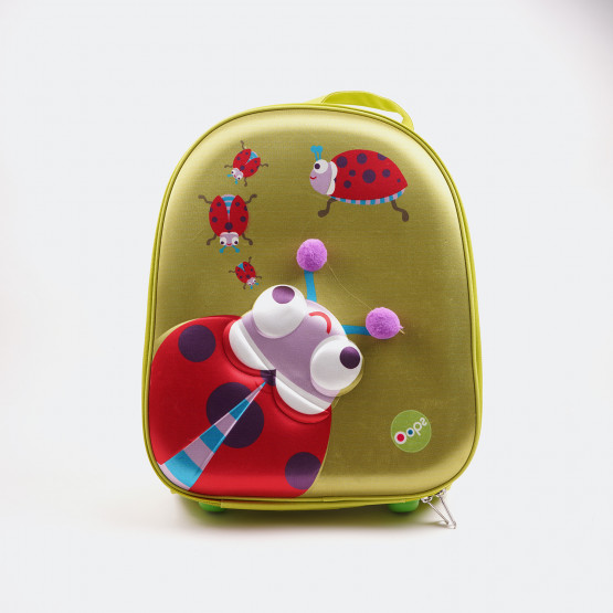 Oops Παιδική Τσάντα Easy Trolley 35cm Ladybug