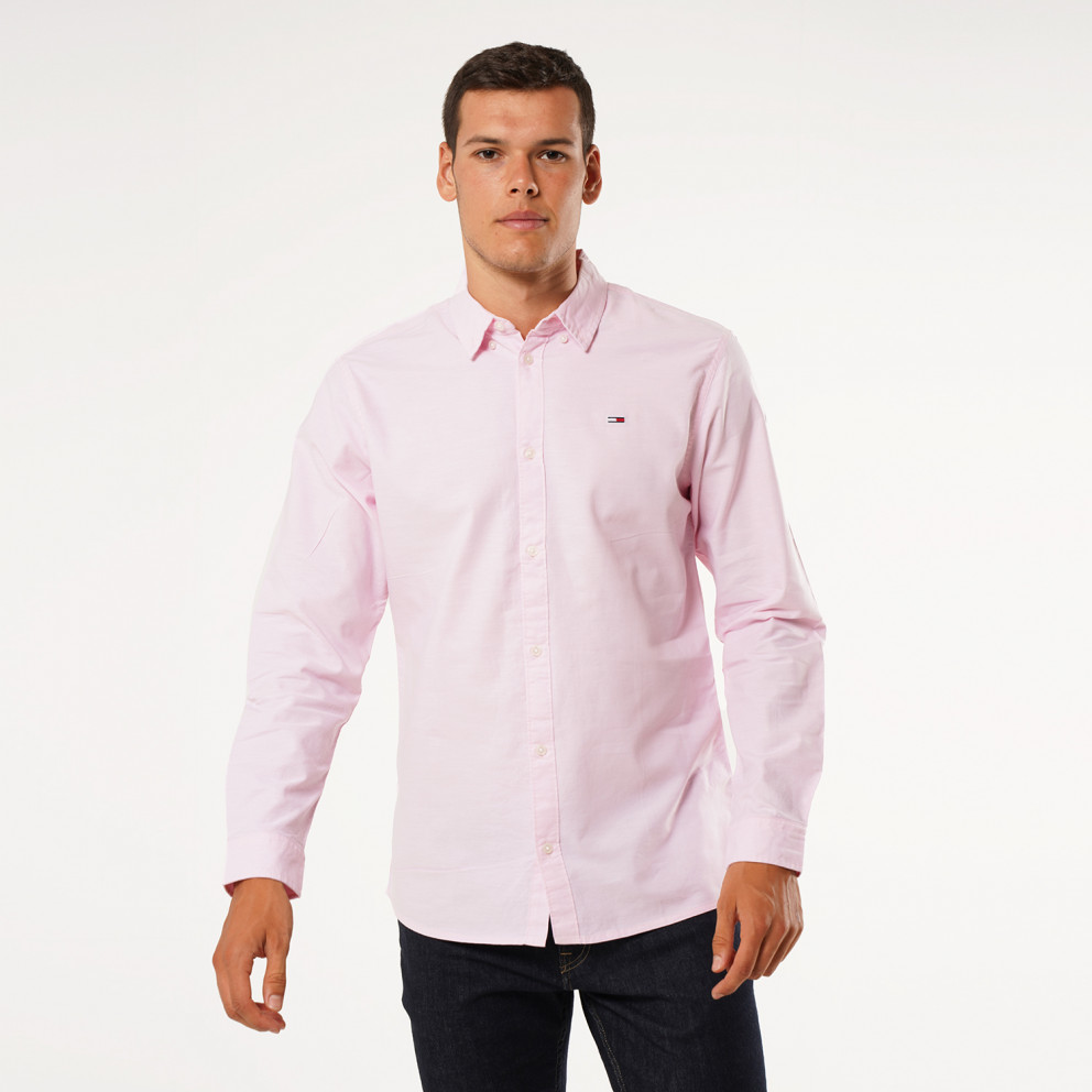 Tommy Jeans Stretch Oxford Men's Dress Shirt