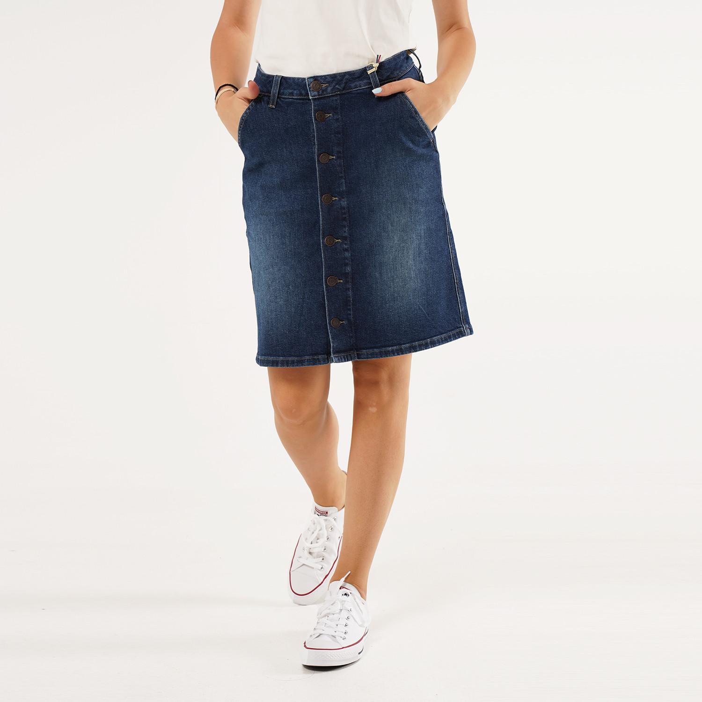 Tommy Jeans A Line Denim Skirt Cndbcf (9000063116_48658)