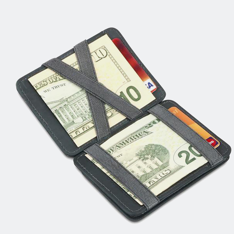 Hunterson Magic Coin Wallet RFID - Δερμάτινο Πορτοφόλι (9000063541_1469)